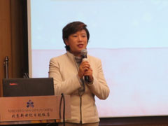 中国日本友好協会 郭寧理事  来賓を代表してあいさつ