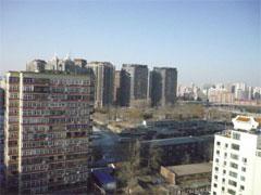 通常は青空が広がる北京の冬(1月2日 撮影)