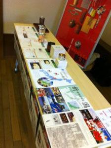 新潟県ブースの展示品